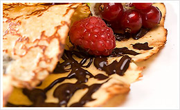 Garnies de chocolat avec un délicieux goût de noisette !